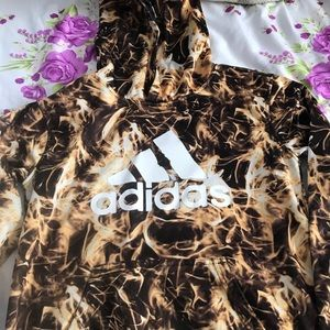 Adidas boys hoodie 10/12